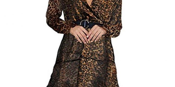 How to Wear Animal Print Dresses