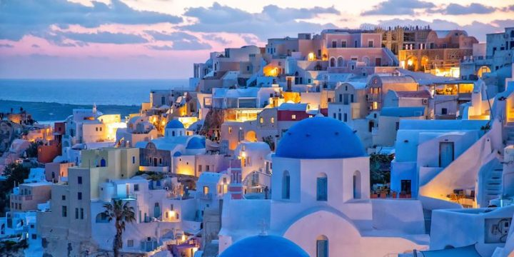 Summer vacation in Santorini '20
